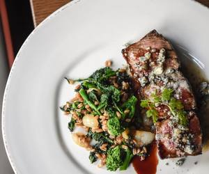 beef, steak, and brown butter image