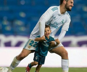 baby, real madrid, and hala madrid image