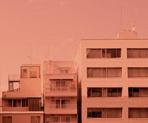 building, pastel, and city image