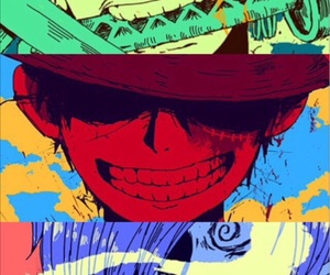 straw hat, roronoa zoro, and straw hat pirates image