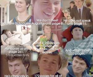 augustus waters, tfios, and the fault in our stars image