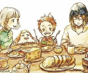 howl's moving castle, ghibli, and Howl image