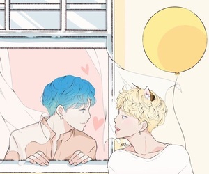 bts, fanart, and yoonmin image