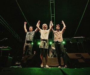 concert, green, and adam met image