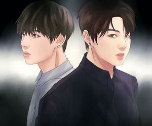fanart, bts, and k-pop image