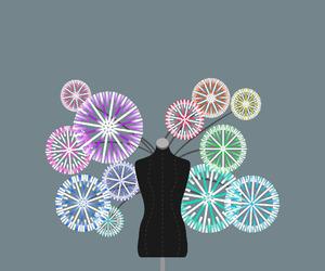 Behati Prinsloo, fireworks, and illustration image