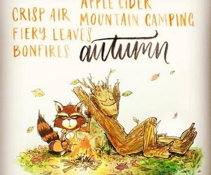 art, autumn, and life image