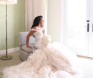 bridal, fashion, and princess image