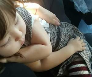 hug, asian, and baby image