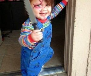 costume, Chucky, and Halloween image