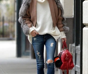 street style, olivia palermo, and outfit image