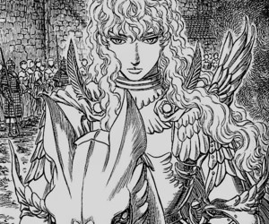 anime, manga, and berserk image
