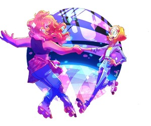 pearl, mystery girl, and steven universe image