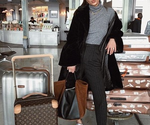 fashion, travel, and ootd image