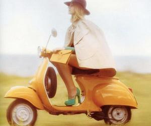 Vespa, vintage, and scooter image