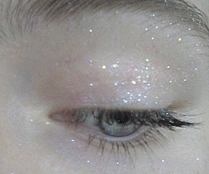 glitter, eye, and grunge image