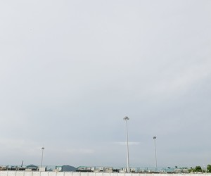 airport, blue, and vscocam image
