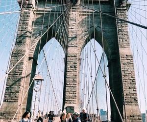 bridge, city, and travis image
