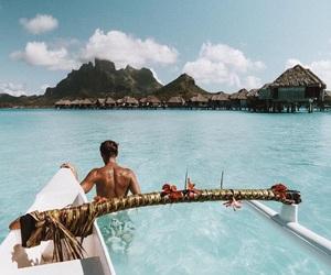 beach, ocean, and travel image