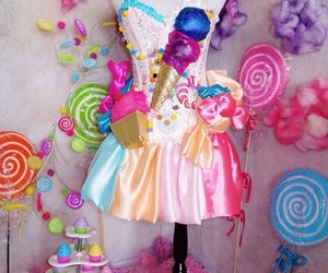 candy, dulces, and candy girl image