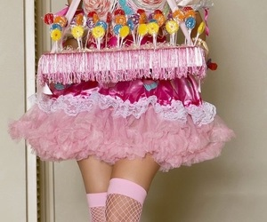 cakes, candy girl, and pink image