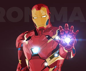 artwork, iron man, and minimal image