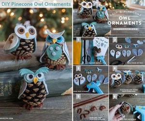 diy, owl, and christmas image
