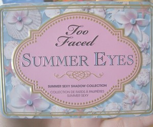 eyeshadow, flower, and summer image