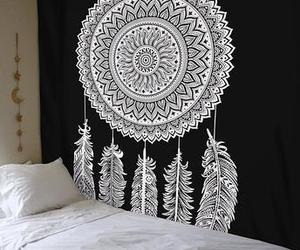 hippie tapestry, beach throws tapestry, and porch hangings tapestry image