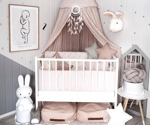 baby, bed, and child image