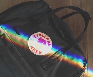 fjallraven kanken and rainbow image