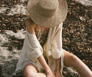 beautiful, hat, and boheme image