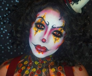 Halloween, makeup, and dehsonae image