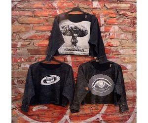 band, black, and bandshirt image