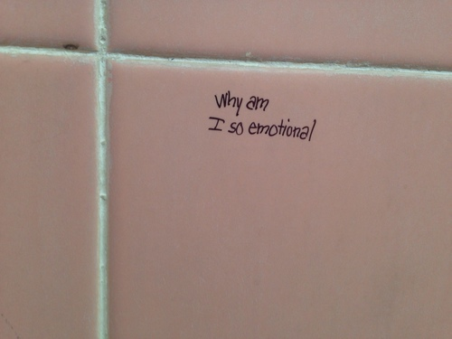 pink, grunge, and emotional image