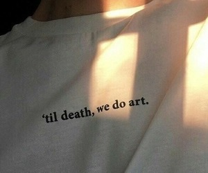 art, till, and death image