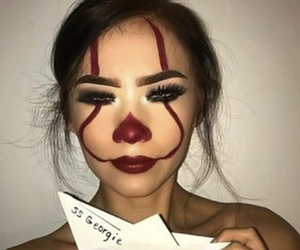 Halloween, it, and makeup image