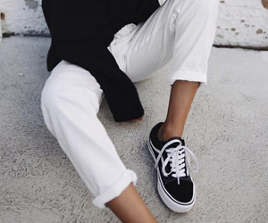 vans, fashion, and girl image