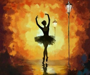 ballet and painting image