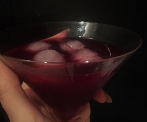 alcohol, raspberry, and Burberry image