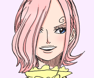 coloring, one piece, and reiju vinsmoke image