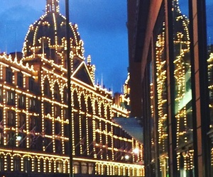 adventure, harrods, and shopping image
