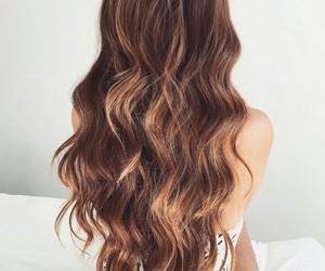 elegance, hair, and longhair image