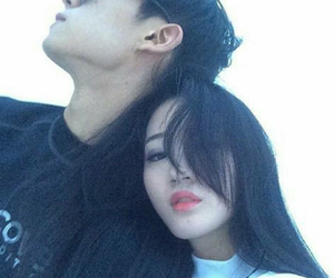 couple, asian, and ulzzang image