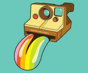 camera, vintage, and retro image