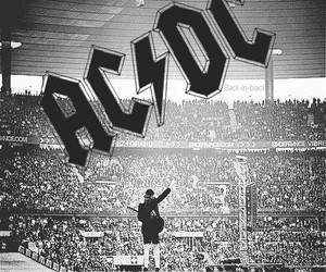 rock, ac dc, and music image