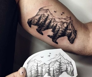 art, tattoo, and ink image
