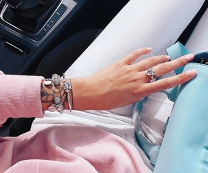 beautiful, clothes, and jewerly image