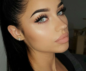 makeup, tumblr, and beauty image
