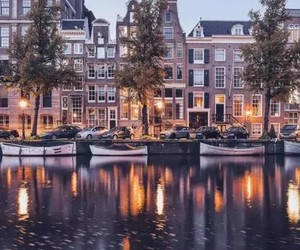 amsterdam, fall, and places image